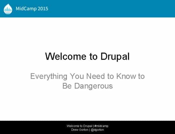 welcome-to-drupal